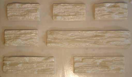 Пластиковые формы для изготовления искусственного камня