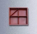 3 квадрата-шагрень